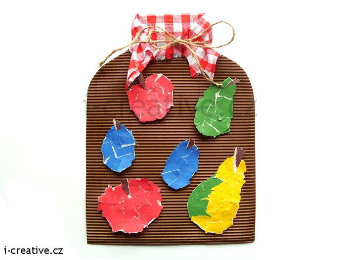 Podzimní výtvarné nápady z papíru pro pro předškolní děti