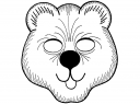 maska medvěd
