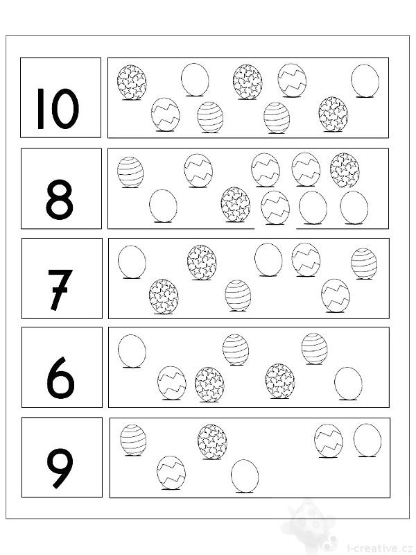 Velikonoční pracovní a zábavné listy pro děti