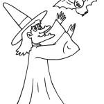 čarodějnice s netopýrem
