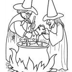 čarodějnice vařící lektvar
