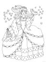 omalovánka princezna