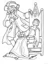 omalovánka princ a princezna