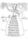 omalovánky princezny