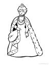 omalovánka královna