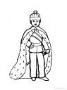 omalovánka král