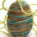 omotané velikonoční vajíčko