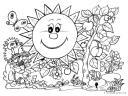 obrázek jarního sluníčka