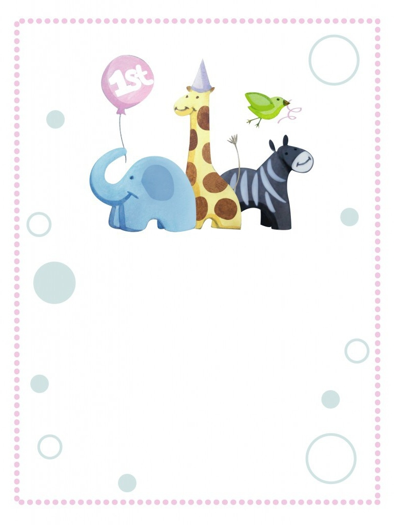 1St Party Invitations was awesome invitations template