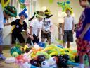 balónky na narozeninové oslavě