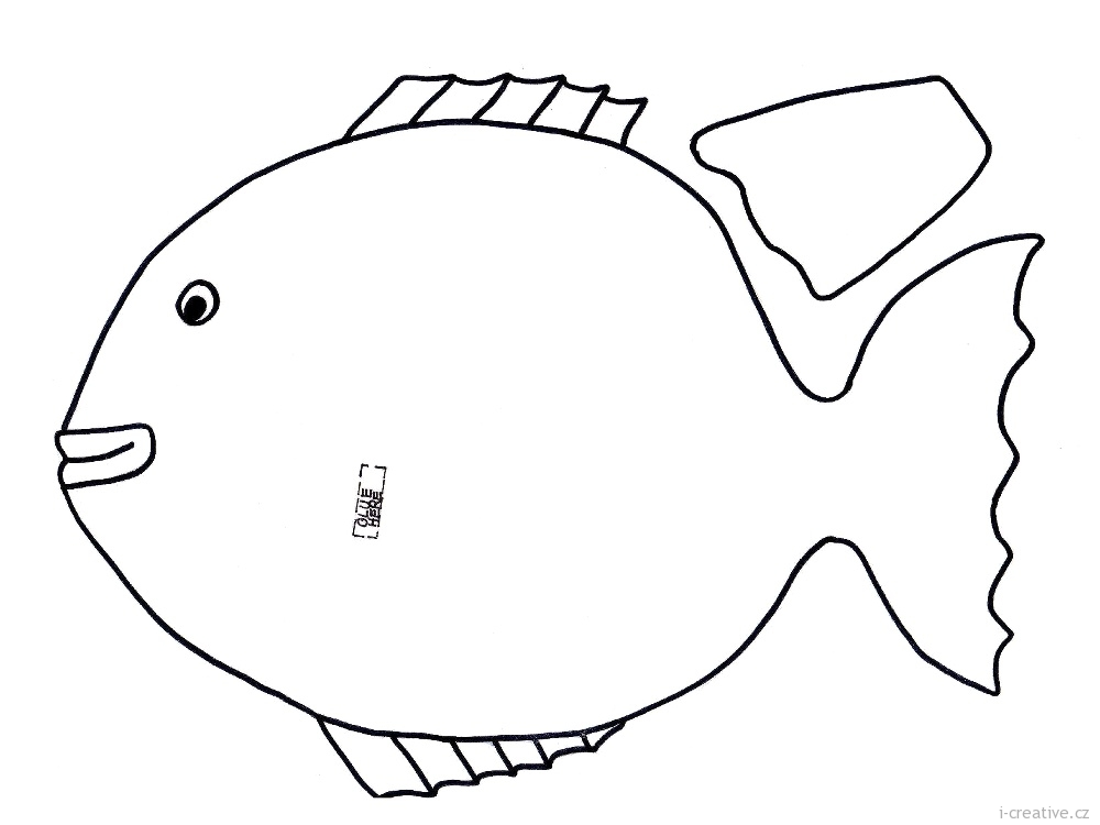 Tropical fish outline tropical fish template 2017 fish for Printable fish template