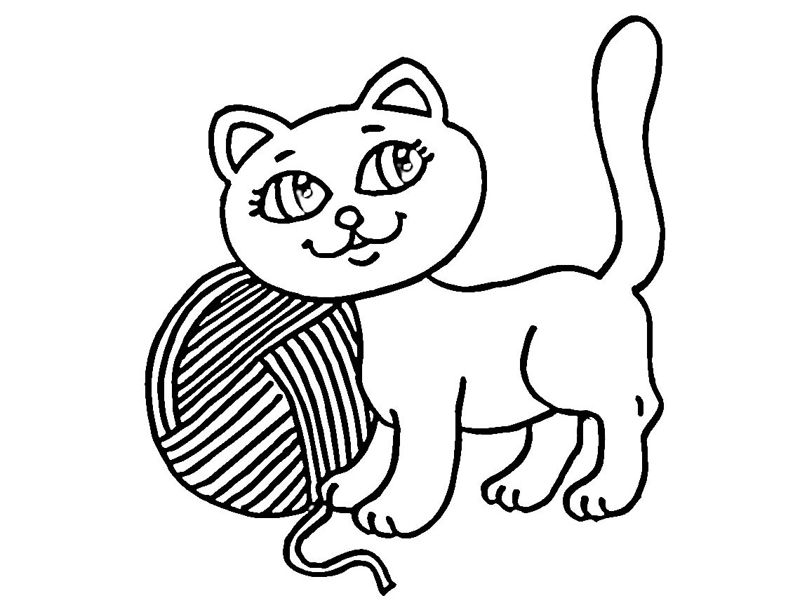 yarn coloring pages - photo #24