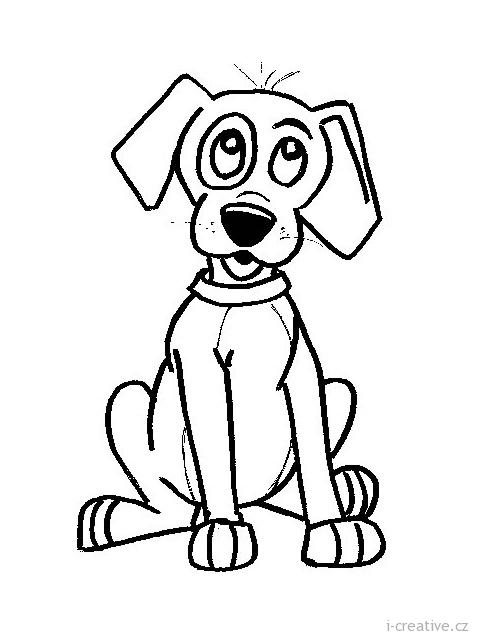 Psi pejsci omalov nky i inspirace n vody for Disegno cane facile