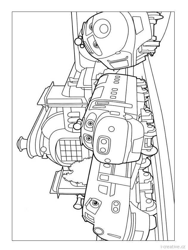 jackman chuggington coloring pages - photo#3
