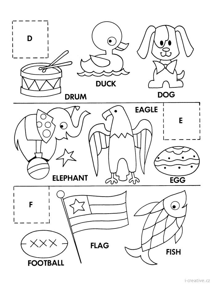 Anglictina Hrou Zabavne Pracovni Listy Pro Deti Pri Nichz Deti