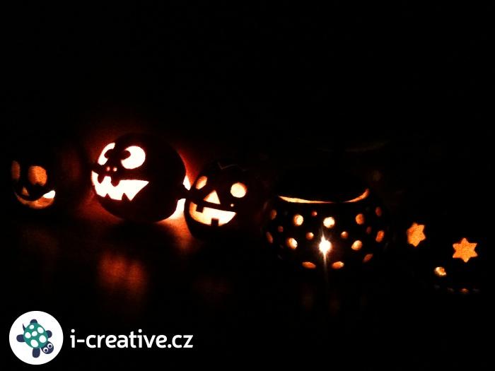 návod jak vydlabat dýni na halloween