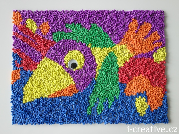 Pěnová mozaika Wiky