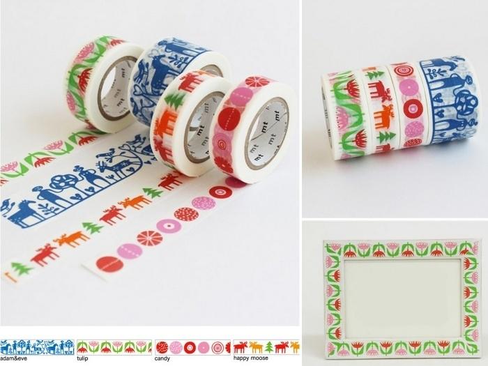 dekorační washi pásky z dílny Bengt & Lotta