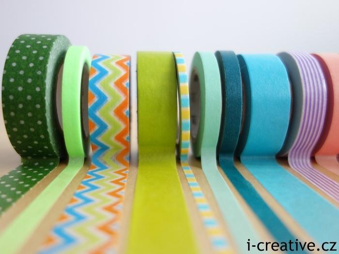 dekorační washi pásky
