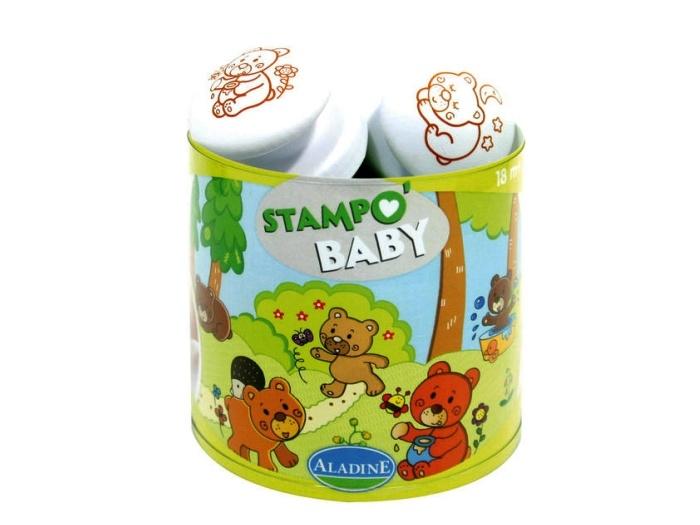 Razítka Aladine Stampo Baby - Medvídci