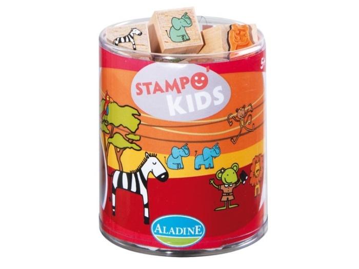Razítka Aladine Stampo Kids - Safari