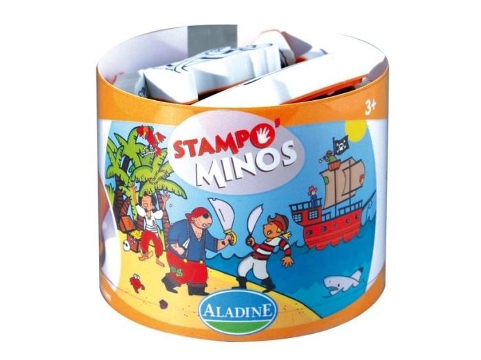 Razítka Aladine Stampo Minos - Piráti