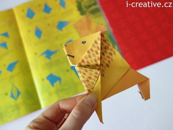 origami lev