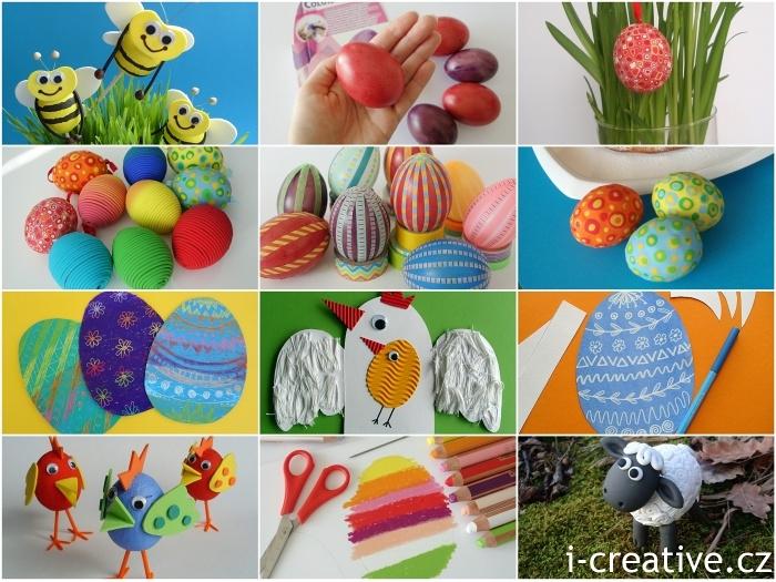 Velikonoce kreativní tvoření
