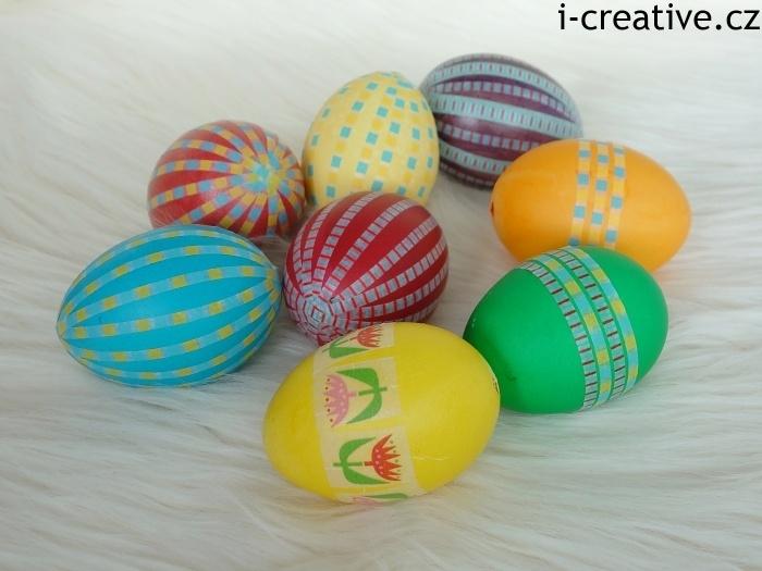 washi pásky vajíčka