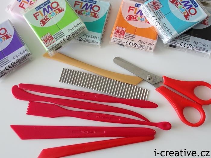 Nástroje pro modelování s Fimo Kids