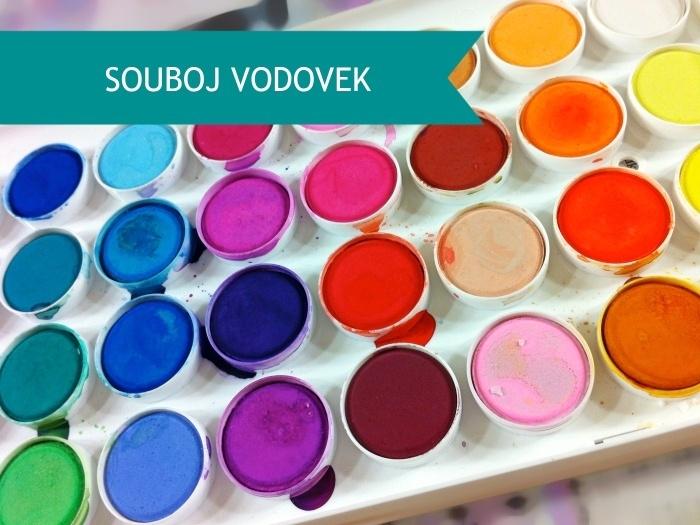 souboj vodových barev