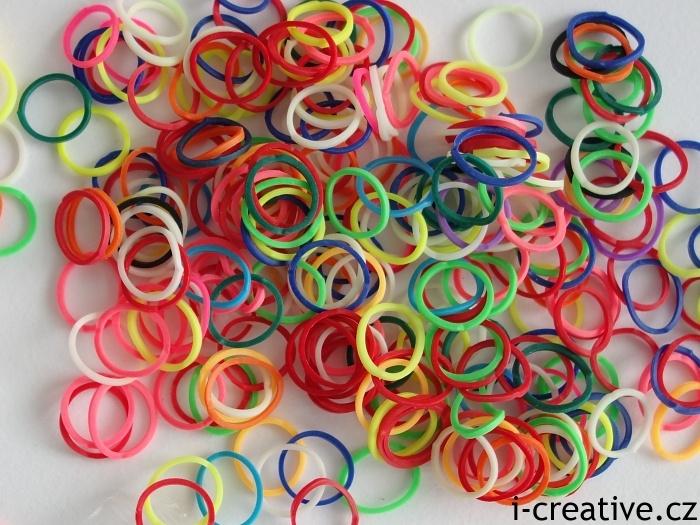 rainbow gumičky
