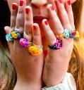 prstýnky z gumiček