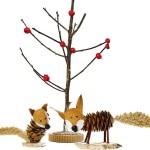 tvoření ze šišek - lišky