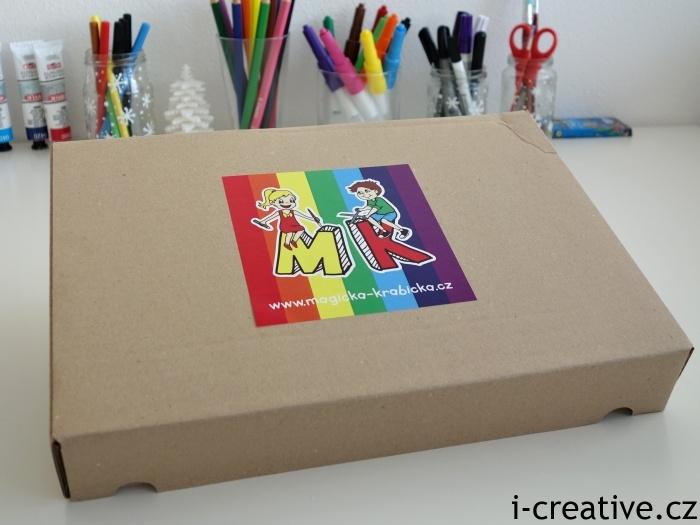 Magická krabička Duhová edice