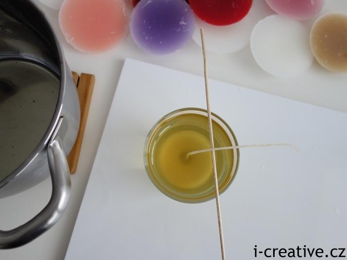 jak doma vyrobit svíčku