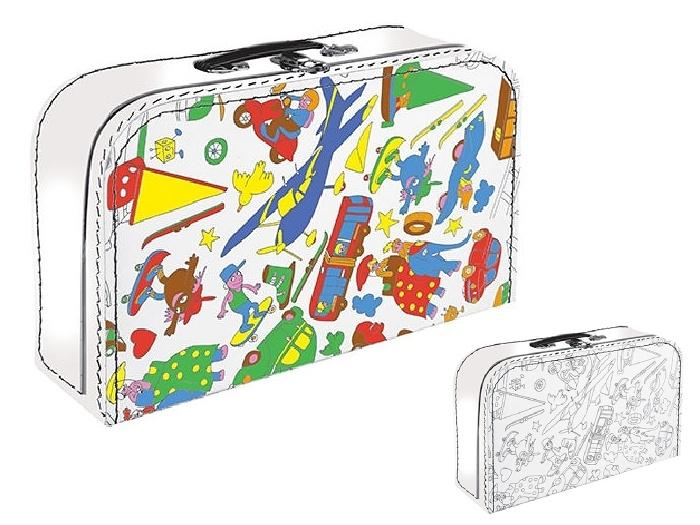 Kazeto kufřík omalovánky pro kluky