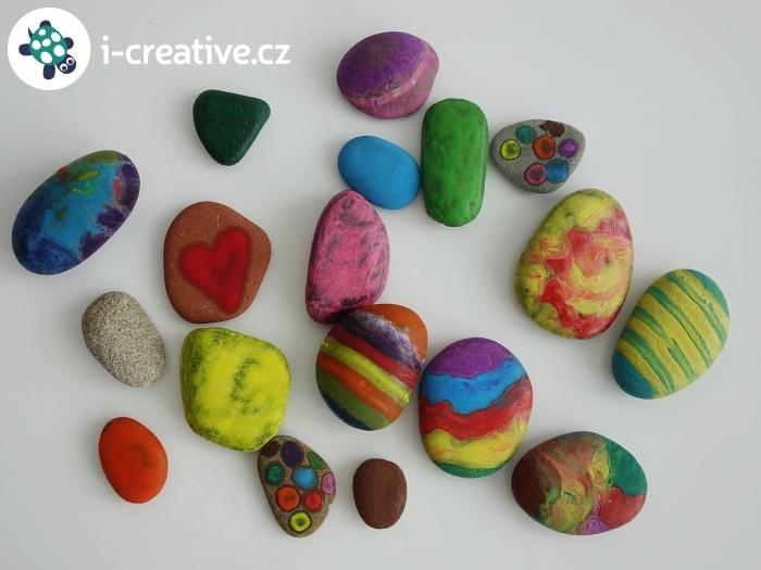 malování na horké kamínky