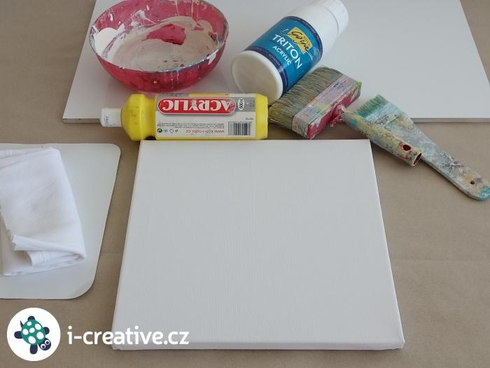 malování na plátno - návod pro začátečníky