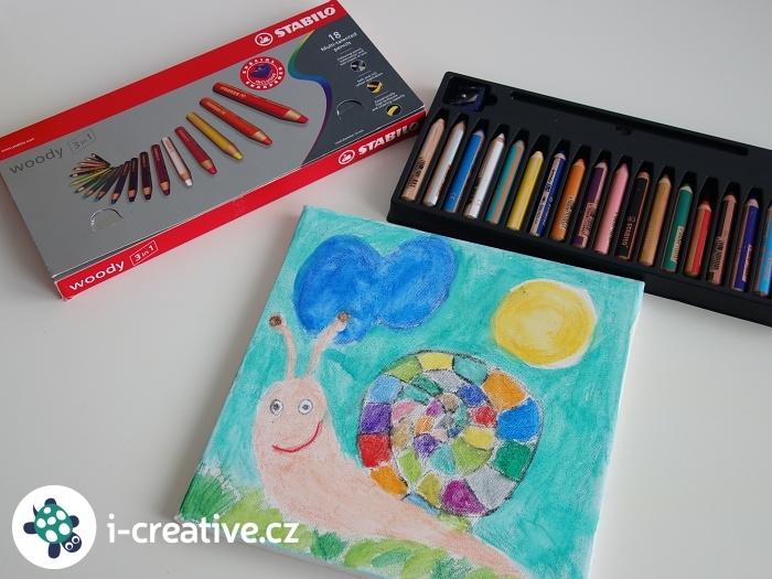 obrázek na plátně do dětského pokojíčku