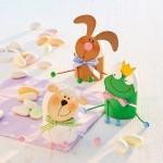 Velikonoční tvoření - stojánky na vajíčka