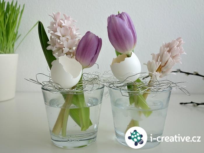 aranžování jarních květin