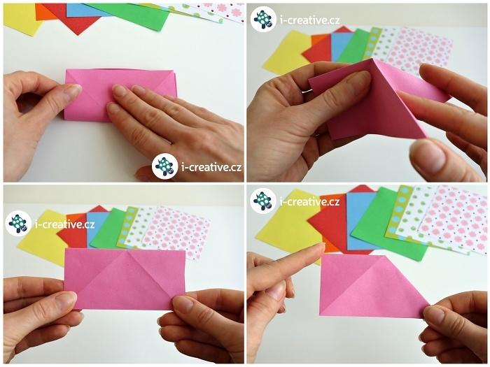 origami motýlek