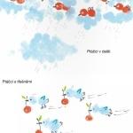 ukázka z knížky Nauč se malovat prstem