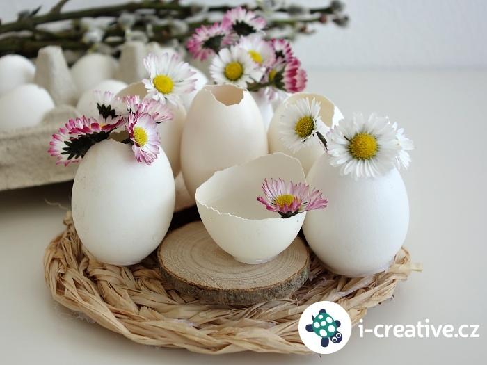 výroba velikonoční dekorace
