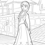 Anna Frozen Ledové království
