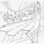 Elsa omalovánka