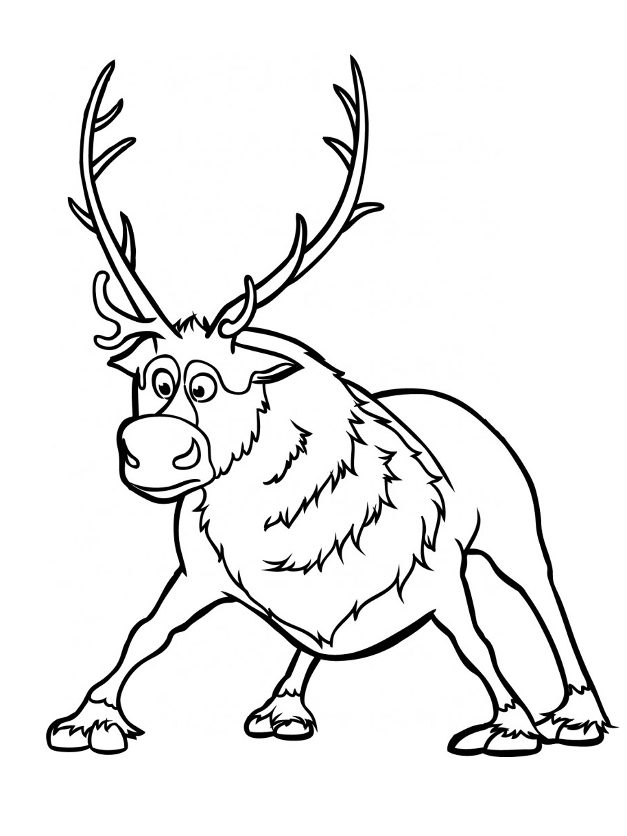 baby sven coloring pages | Sven Coloring Pages Coloring Pages