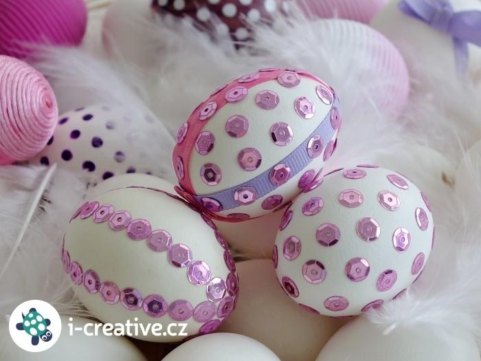 flitrová velikonoční vajíčka