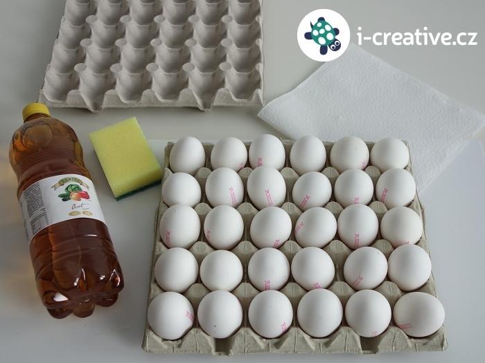 jak odstranit razítka z vajíček
